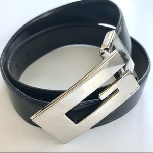 Gucci Reversible Belt- unisex-Authentic- E…